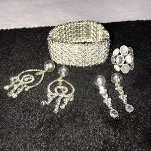 Gorgeous set of givenchy jewelry - 4 total